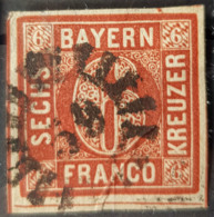 BAVARIA - Canceled - Mi 4II - 6k - Bayern (Baviera)
