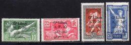 Grand Liban 1924 Yvert 45 / 48 * B Charniere(s) - Great Lebanon (1924-1945)