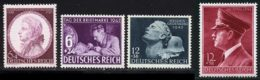 Allemagne Empire 1942 Yvert 734 / 737 ** TB - Germany