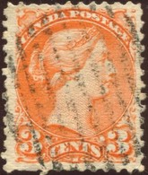 Pays :  84,1 (Canada : Dominion)  Yvert Et Tellier N° :    30 (o) Dentelé 11½*12 - 1851-1902 Règne De Victoria