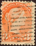 Pays :  84,1 (Canada : Dominion)  Yvert Et Tellier N° :    30 (o) Dentelé 12 * 11¾ - 1851-1902 Règne De Victoria