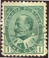 Pays :  84,1 (Canada : Dominion)  Yvert Et Tellier N° :    78 (o) Sg 175 - 1903-1908 Règne De Edward VII