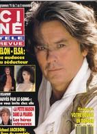 Ciné Télé Revue Oct 91 9144 Delon Elsa Marlène Jobert Bowie Michael Jackson Natalie Wood - People