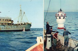 .NAVIRE OCEANOGRAPHIQUE PRESIDENT-THEODORE TISSIER  COMITE NATIONAL DE L'ENFANCE..CPA Impeccable - Barche