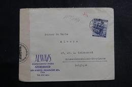 ALLEMAGNE - Enveloppe Commerciale De Bohême Et Moravie Pour La Belgique En 1940 Avec Contrôle Postal - L 39961 - Bohême & Moravie