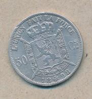 België/Belgique 50 Ct Leopold II 1898 Fr Morin 186 (89358) - 1865-1909: Leopold II