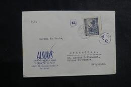 ALLEMAGNE - Enveloppe Commerciale De Bohême Et Moravie Pour La Belgique En 1940 Avec Marque De Contrôle Postal - L 39962 - Lettres & Documents