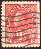 Pays :  84,1 (Canada : Dominion)  Yvert Et Tellier N° :   105-2 (o) Du Carnet - Carnets