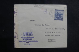 ALLEMAGNE - Enveloppe Commerciale De Bohême Et Moravie Pour La Belgique En 1940 Avec Contrôle Postal - L 39963 - Lettres & Documents