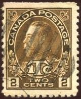 Pays :  84,1 (Canada : Dominion)  Yvert Et Tellier N° :   106-1(o) Du Carnet - Carnets