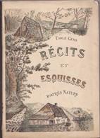 GENS Émile - Récits Et Esquisses D'après Nature - Cultuur