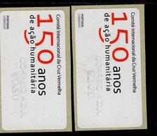 84 Rotes Kreuz Correio Azul Werteindruck Klein ** Postfrisch, MNH, Neuf (11) - Automatenmarken (ATM/Frama)