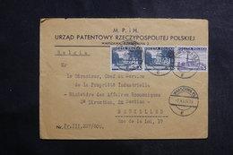 POLOGNE - Enveloppe Commerciale De Warszawa Pour Bruxelles En 1937, Affranchissement Plaisant - L 39967 - 1919-1939 République
