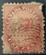 CANADA - Canceled - Sc# 14 - Damaged! (see Scan!) - 1c - 1851-1902 Règne De Victoria