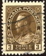 Pays :  84,1 (Canada : Dominion)  Yvert Et Tellier N° :   110 (o)  Sg 205 - 1911-1935 Règne De George V