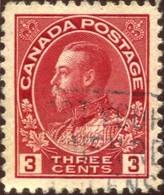 Pays :  84,1 (Canada : Dominion)  Yvert Et Tellier N° :   111 (o)  Die II - 1911-1935 Règne De George V