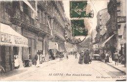 FR34 SETE - CETTE - 53 - Rue Alsace Lorraine - Animée - Belle - Sete (Cette)