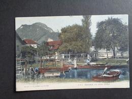 Suisse ( 205 )  Switserland  Svizzera  Sweiz  Zwitserland  :   Stansstad , Ein Stiller Winkel - Switzerland