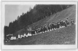 """09458 """"(BZ) KLOBENSTEIN - COLLALBO - FRAZIONE DI RENON - 1919""""  ANIMATA, PROCESSIONE.  FOTO ORIGINALE - Luoghi"""