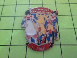 1214b PINS PIN'S / Beau Et Rare : Thème POLICE / GENDARMERIE COMPAGNIE DE L'EURE Et Du Siècle Dernier !!! - Police
