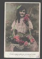 Fantasy / Fantaisie / Fantasie Kaart - Girl / Fille / Meisje - Portret / Portrait - 1907 - Portraits