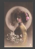 Fantasy / Fantaisie / Fantasie Kaart - Girl / Fille / Meisje - Portret / Portrait - 1911 - Portraits