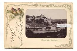 Gruss Aus Aarburg - General View - 1908 Used Switzerland Postcard - AG Argovia
