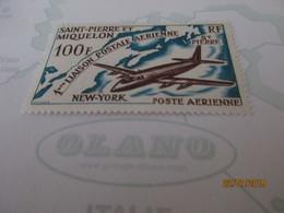 Saint-Pierre Et Miquelon Poste Aérienne N° 31** - Aéreo