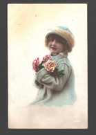 Fantasy / Fantaisie / Fantasie Kaart - Girl / Fille / Meisje - Portret / Portrait - 1923 - Portraits