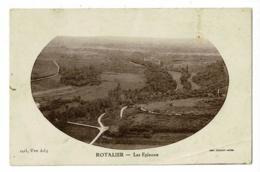 Rotalier - Les Epinoux - Circulé 1946, Sous Enveloppe - France