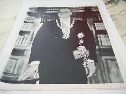 AFFICHE PHOTO GEORGE POMPIDOU PRESIDENT  1968 - Altri