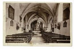 Vadans - Intérieur De L'Eglise - Circulé 1936 - France