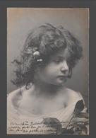 Fantasy / Fantaisie / Fantasie Kaart - Little Child / Petit Enfant / Klein Kind - Portret / Portrait - 1907 - Glossy - Groupes D'enfants & Familles
