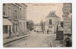 - CPA MAMERS (72) - Boulevard Victor-Hugo 1906 - Edition J. B. - - Mamers