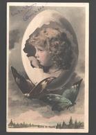 Fantasy / Fantaisie / Fantasie Kaart - Little Child / Petit Enfant / Klein Kind - Paasei / Oeufs De Pâques - 1907 - Scènes & Paysages