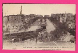 CPA  (Ref: Z2269) (75 PARIS)   Perspective De La Ligne Du Métro Station Corvisart Boulevard Auguste Blanqui - District 13