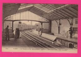 CPA  (Ref: Z2270) (75 PARIS)  Le Chemin De Fer Métropolitain Ligne N°2 Sud Etoile-Italie. Gare Corvisart( BYRR) - Arrondissement: 13