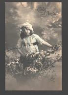 Fantasy / Fantaisie / Fantasie Kaart - Girl / Fille / Meisje - Gage D'amitié - Scènes & Paysages