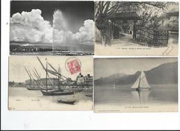 Suisse Geneve Lac Léman Lot De 64 Cartes Tout Scanné Toutes époques - GE Ginevra