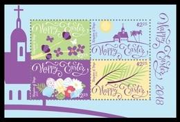 Tonga 2018 Mih. 2177/80 (Bl.116) Easter MNH ** - Tonga (1970-...)