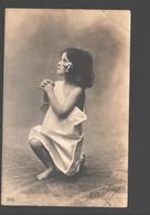 Fantasy / Fantaisie / Fantasie Kaart - Praying Girl / Fille De Prière / Biddend Meisje - 1905 - Scènes & Paysages
