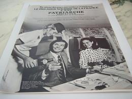 ANCIENNE PUBLICITE 1 ER SOURIRE DE FRANCE VIN LES  BOURGOGNES PATRIARCHE 1968 - Alcools