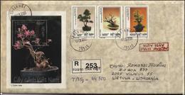 VIETNAM Cover Postal History Bedarfsbrief VN 003 Air Mail Bonsai Propagation - Viêt-Nam