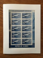 MINI-FEUILLE Airbus A380 - Y&T F69a - 2006 - Neuf ** - Blocs & Feuillets
