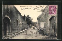 CPA Molosmes, Rue Du Clos - France
