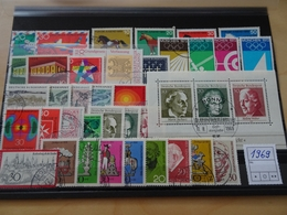 Bund Jahrgang 1969 Gestempelt Komplett (7899) - Gebruikt
