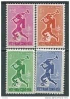 Vietnam Du Sud N° 188 / 91  XX  Eradication Du Paludisme. Les 4  Valeurs  Sans Charnière  TB - Viêt-Nam