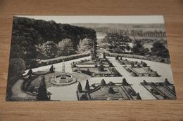 11718-  CHATEAU DE GAESBEEK, LE COUR D'HONNEUR VUE DE LA PLATE-FORME DU CHATELET - Morlanwelz