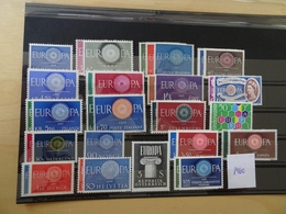Europa Cept Jahrgang 1960 Postfrisch Komplett (11520) - 1960