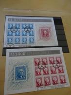 USA Michel 2330/31 Kleinbogen Gestempelt (11198) - Blokken & Velletjes